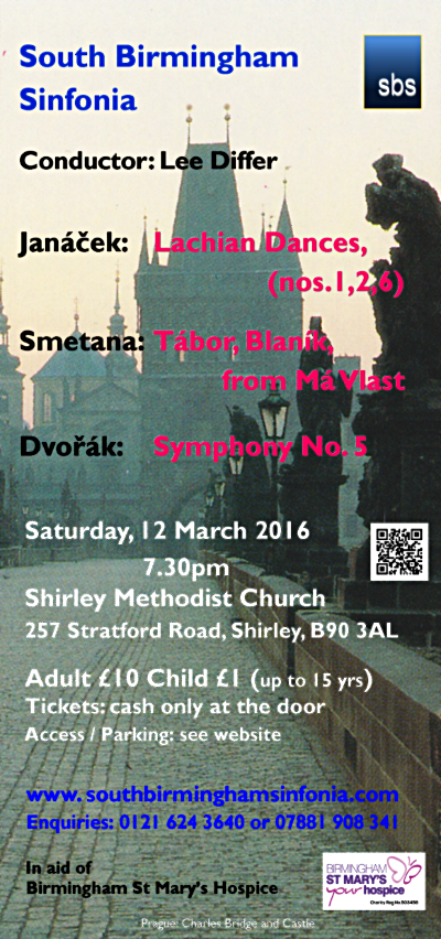 Flyer for 2016 Mar12 concert